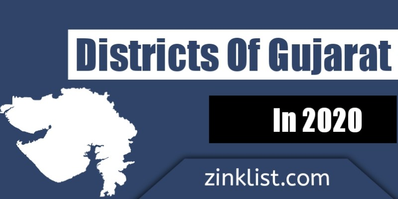 List of all districts in gujarat