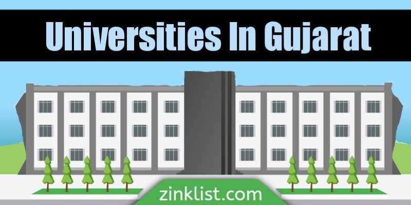 Universities in gujarat for higher education